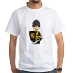 Cute crusader Knight White T-Shirt