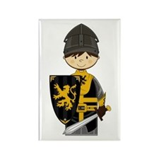 Cute Crusader Knight Magnet