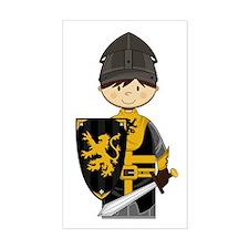 Cute Crusader Knight Decal