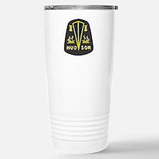 Dark Hudson Logo Travel Mug