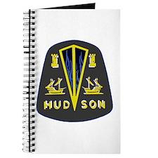 Dark Hudson Logo Journal