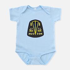 Dark Hudson Logo Infant Bodysuit