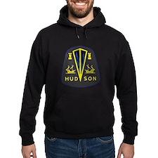 Dark Hudson Logo Hoodie