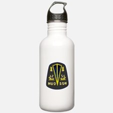 Dark Hudson Logo Water Bottle