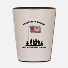 Funny Rotc Shot Glass