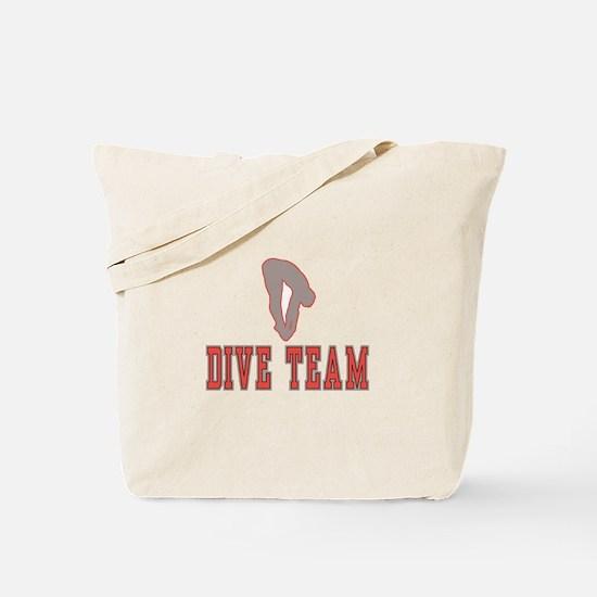 Cute Diver Tote Bag