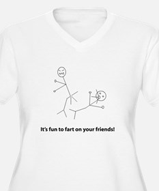 Funny Fart On Friends T-Shirt