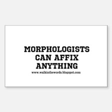 morphologists Decal