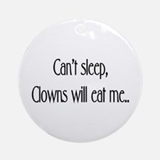 Clowns !! Ornament (Round)