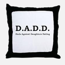 D.A.D.D. Throw Pillow