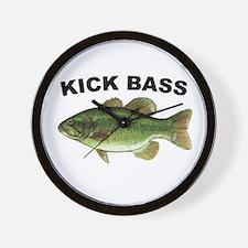 Kick Bass Bassmaster Wall Clock