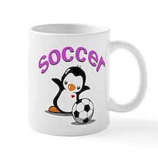 Soccer Penguin (1) Mug