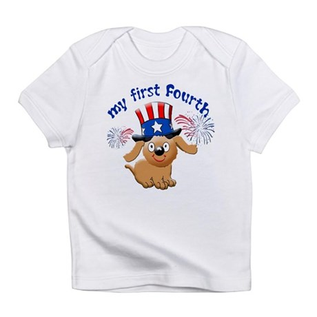 My first Fourth of July Infant T-Shirt