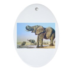 Animal Ornament (Oval)