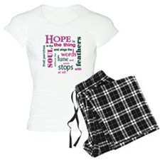 Hope with Feathers Pajamas