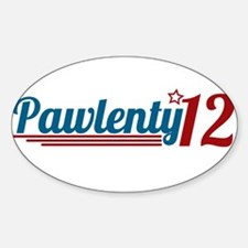 Tim Pawlenty '12 Decal