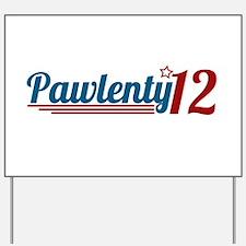 Tim Pawlenty '12 Yard Sign