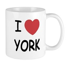 I heart York Mug