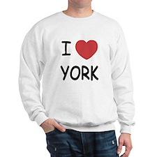 I heart York Sweatshirt