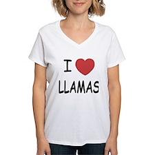 I heart llamas Shirt