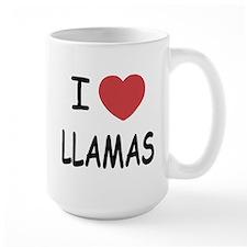 I heart llamas Mug