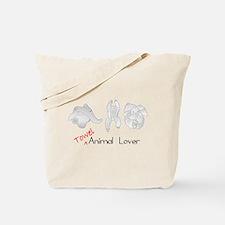 Towel Animal Lover Tote Bag