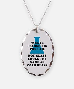 Lab Glass Necklace