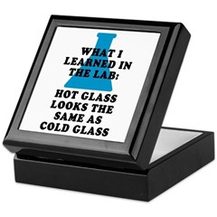 Lab Glass Keepsake Box
