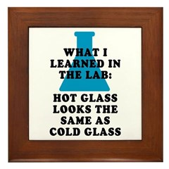 Lab Glass Framed Tile