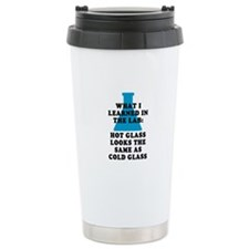 Lab Glass Travel Coffee Mug