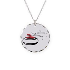 Curling Rocks Necklace