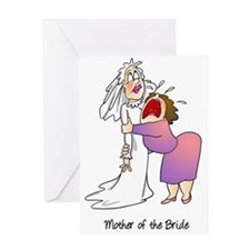 Funny Mother of the Bride Greeting Card