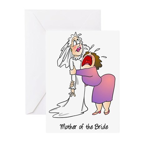 Funny Mother of the Bride Greeting Cards (Pk of 10
