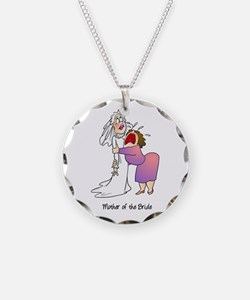 Funny Mother of the Bride Necklace