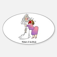 Funny Mother of the Bride Decal