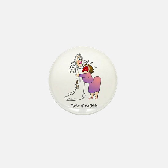 Funny Mother of the Bride Mini Button (10 pack)