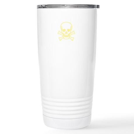Skull Blur Stainless Steel Travel Mug