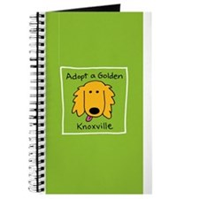 Cute Golden retriever rescue Journal