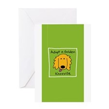 Unique Golden retriever rescue Greeting Card