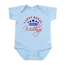 I Love Royal Weddings Infant Bodysuit