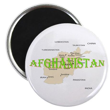 "Afghanistan 2.25"" Magnet (100 pack)"