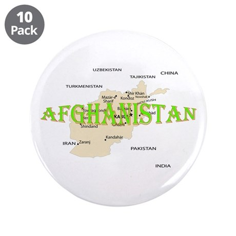 "Afghanistan 3.5"" Button (10 pack)"