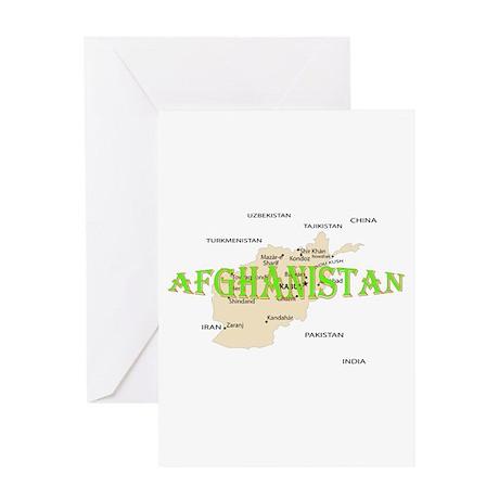 Afghanistan Greeting Card