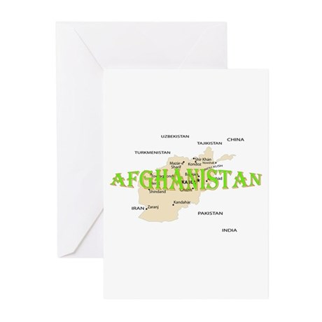 Afghanistan Greeting Cards (Pk of 20)