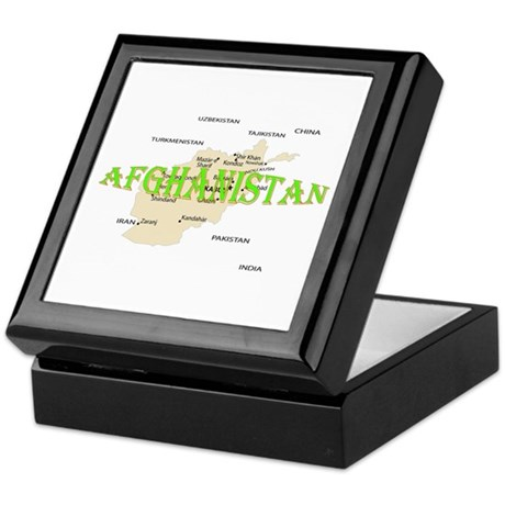 Afghanistan Keepsake Box