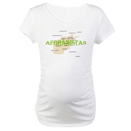 Afghanistan Maternity T-Shirt