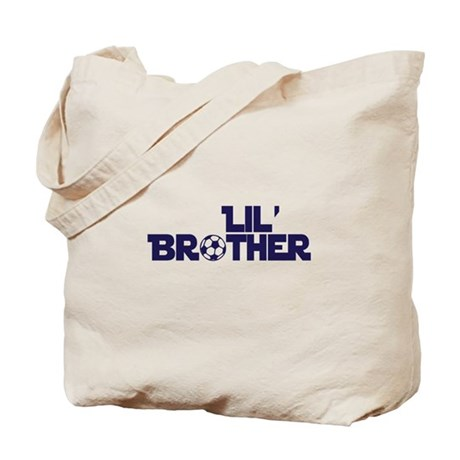Lil' Brother Soccer Tote Bag