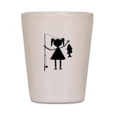 REEL GIRL Shot Glass