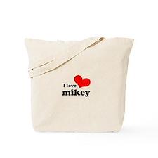 I Love Mikey Tote Bag