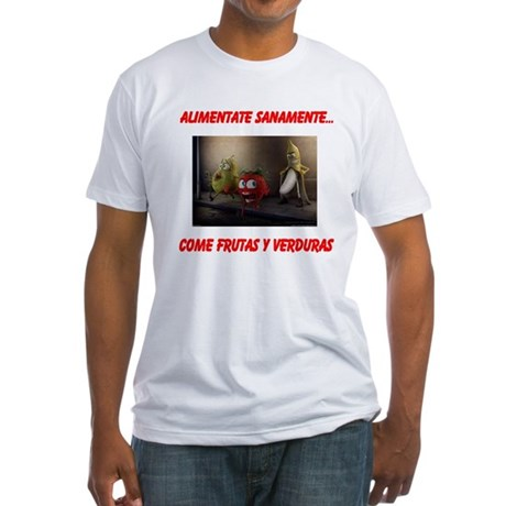 frutas y verduras Fitted T-Shirt